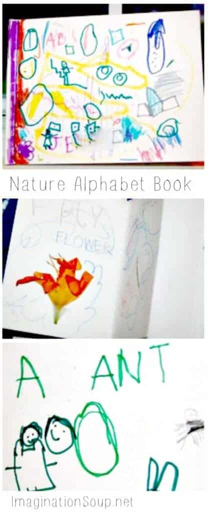 Nature Alphabet Book