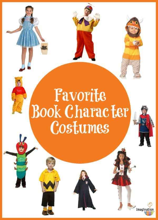favorite book character costumes