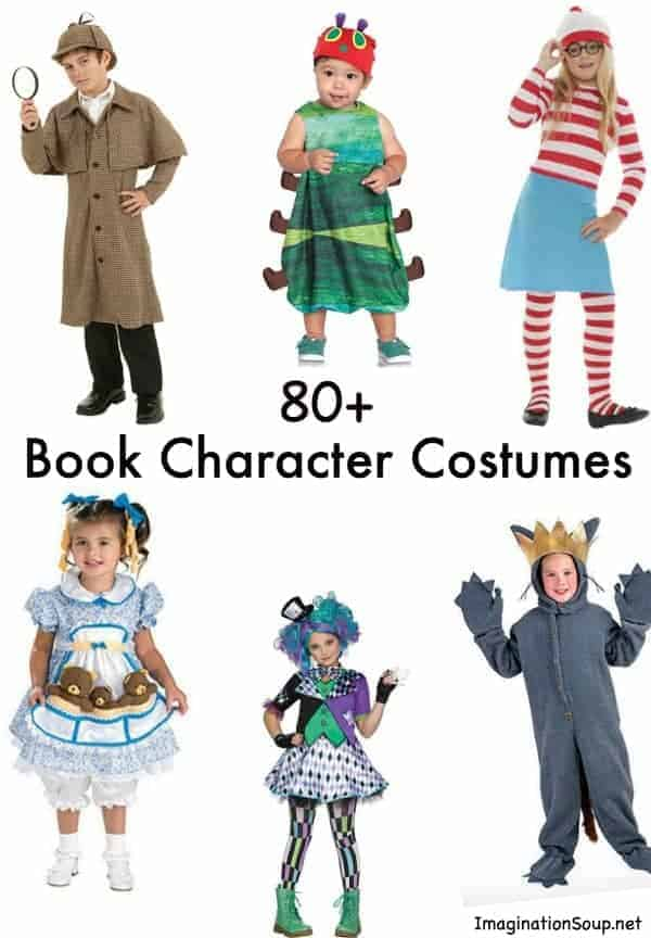 Character Costume Design Tips : Favorite book costumes for kids halloween
