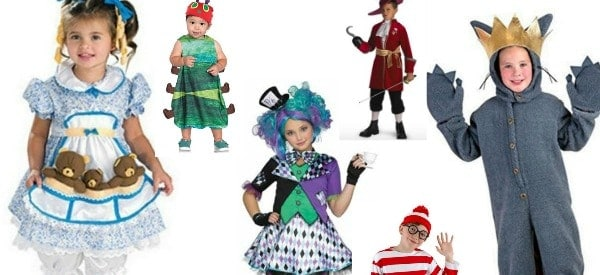 Favorite Book Costumes For Kids Halloween