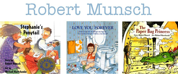 author study of robert munsch