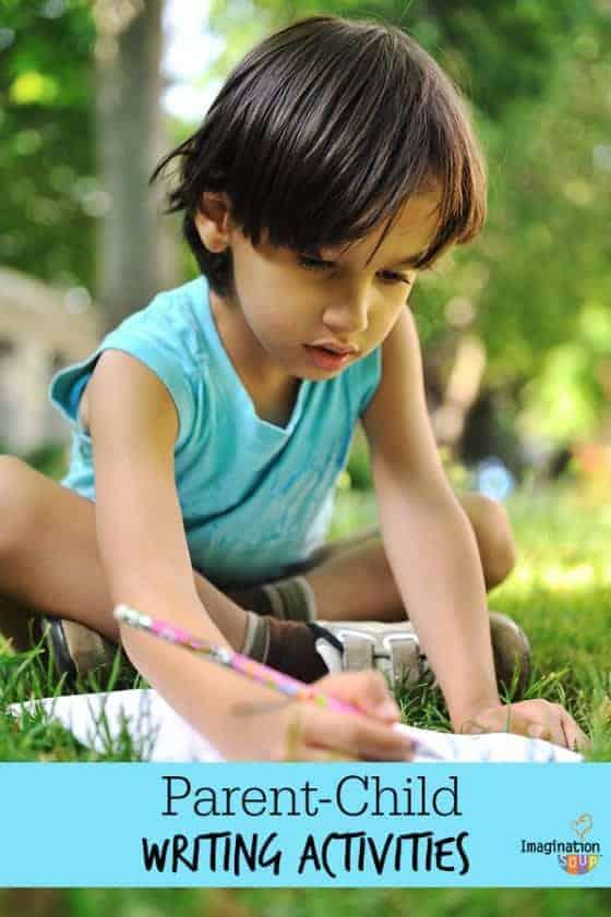 fun parent - child writing activities!