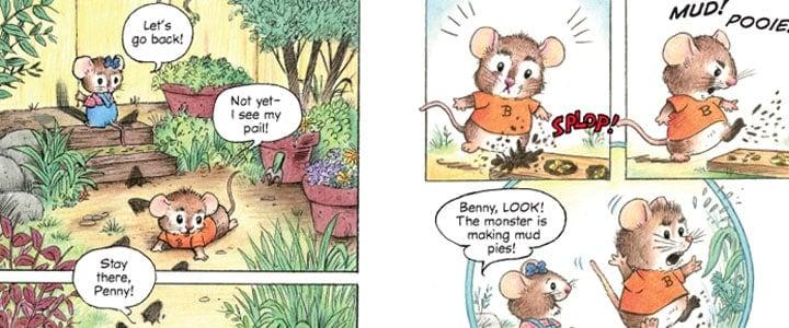 early reader cartoon toon book