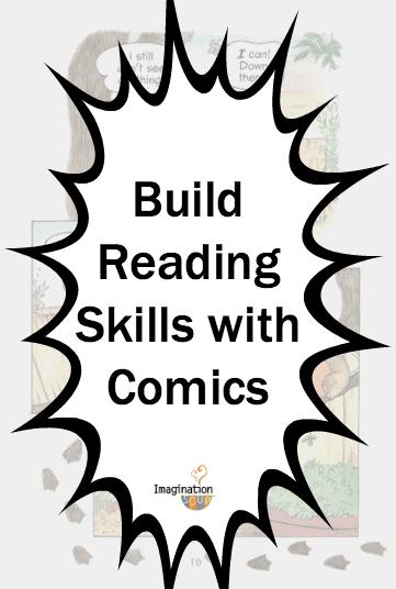 build reading skills with comics