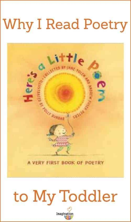 why I read poetry to my toddler