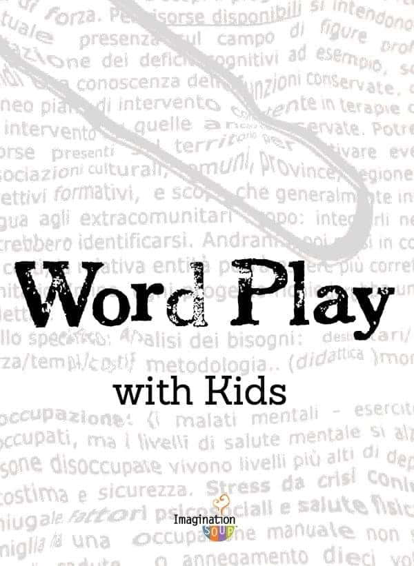 word play with kids