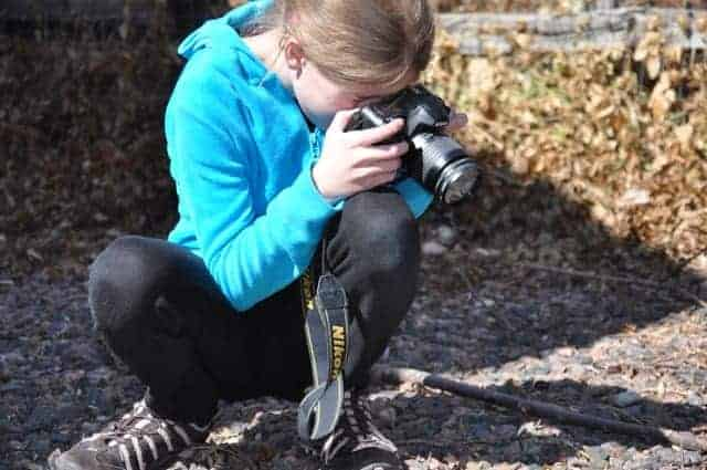 Kids & Cameras - Search for Signs of Spring