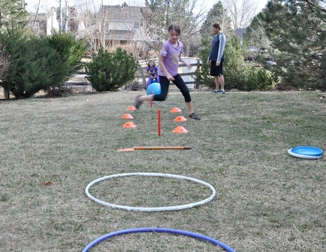 Backyard Obstacle Course for Your Kids