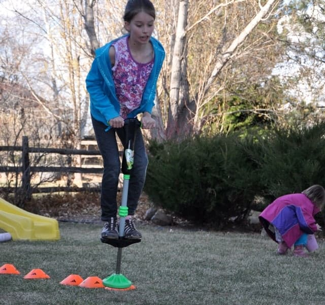 A Backyard Obstacle Course for Your Kids