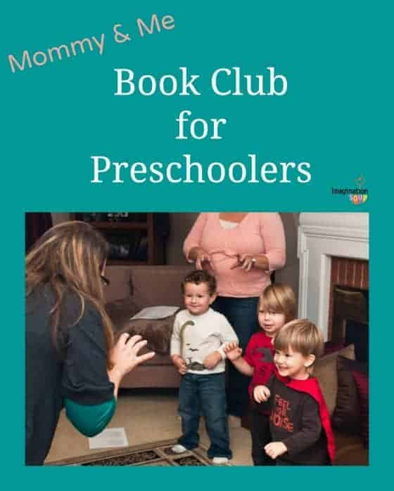 mommy and me book club for preschoolers