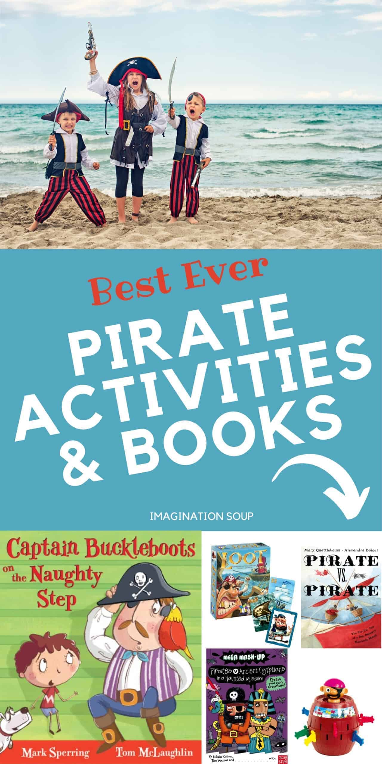 best pirate activities, games, and books for kids