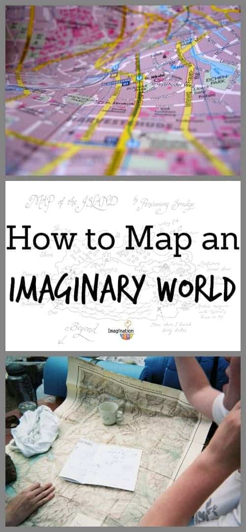 how to map an imaginary world