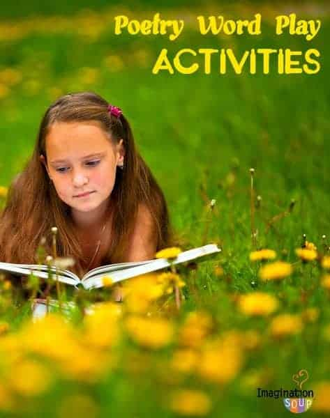 poetry word play with kids - great ideas from poet, Marilyn Singer