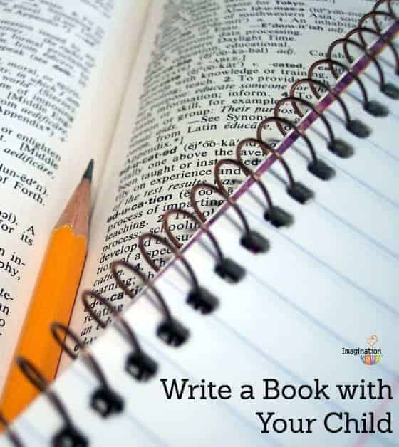 write a book with your child