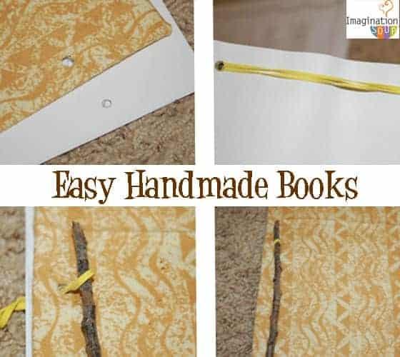 Handmade Book Cover Material ~ Make handmade journals directions and variations