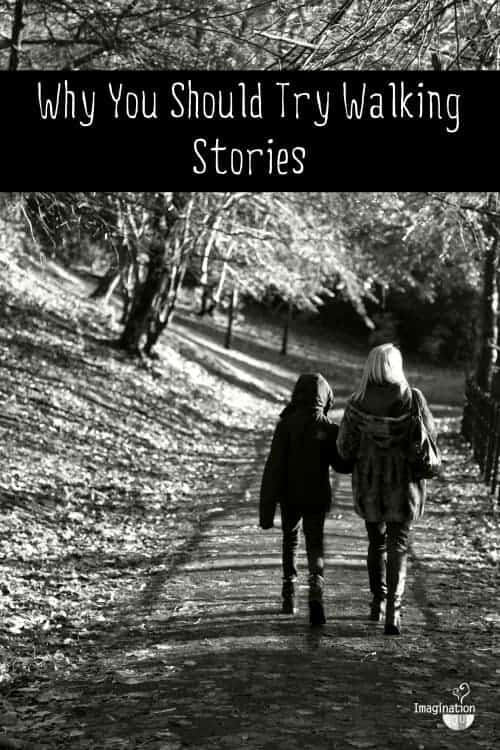 family walking story ritual