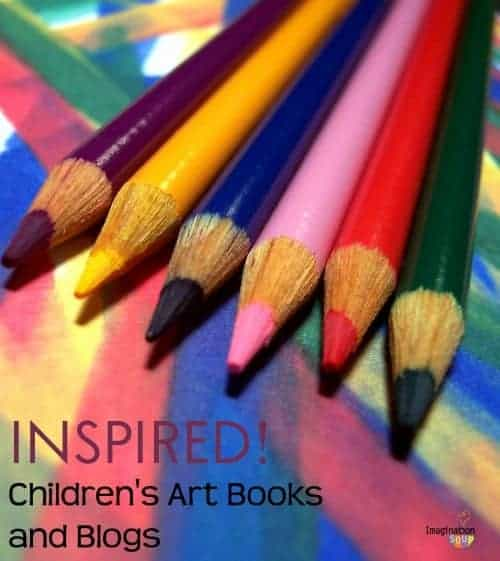 the best books and blogs to inspire your children's art