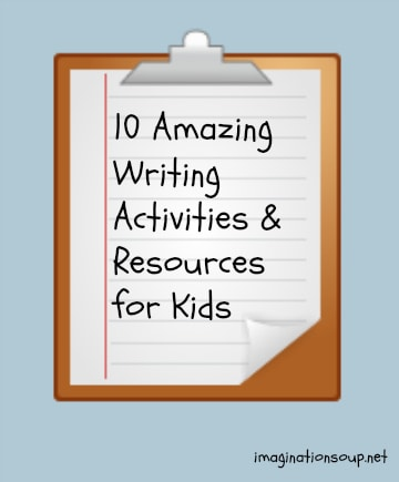10 amazing writing activities and resources for kids
