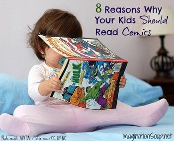 8 reasons why you should read Do you encourage your child to read comic books or graphic novels at home check out these 10 reasons why your child should be reading comic books.