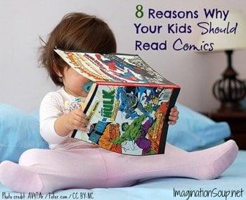 reasons to read comic books