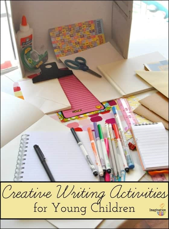 creative writing activities for young children