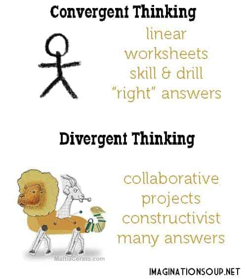 The Difference Between Convergent and Divergent Thinking