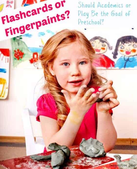 Academics or Play in Preschool?