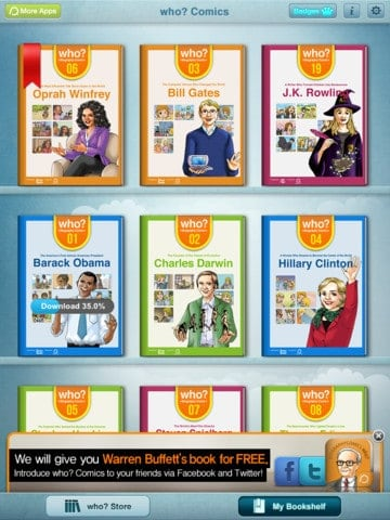 Biography Apps for Kids