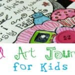 Beginning Art Journaling For Kids