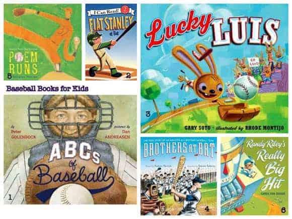 baseball books for kids