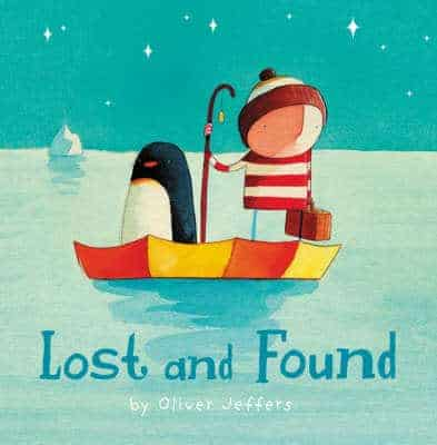 play tub based on Lost and Found by Oliver Jeffers