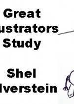 Great Illustrators Study – Shel Silverstein (plus some poetry, too)