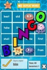sight word bingo 24 Educational iPad Apps for Kids in Reading & Writing