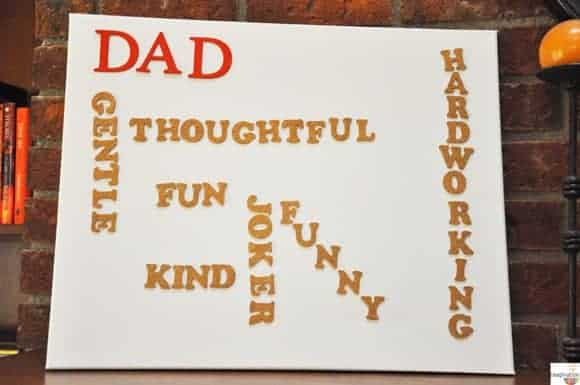The Best Father's Day Gift (that's easy, cheap, & kids can make)