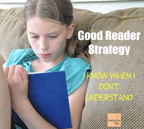 I know when I dont understand Help Your Child Read and Comprehend, Part I