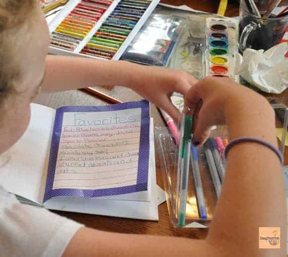 art journal prompts for kids