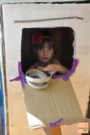 ticket booth Toys That Require Imagination . . . Cardboard