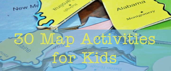30 Fun Geography Activities for Kids Kids Maps on
