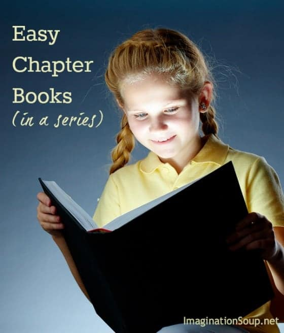 14 Easy Chapter Books in a Series