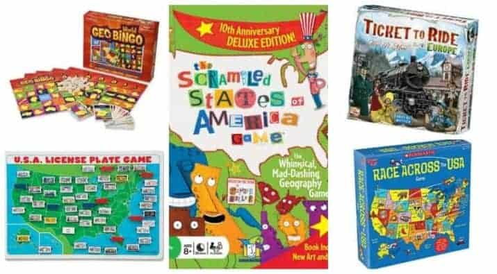 map games for children