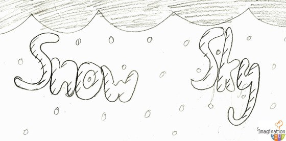 how to write w in bubble writing