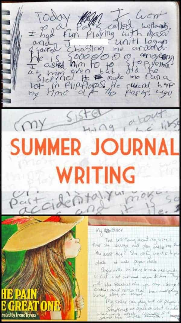 Ideas for Required Summer Journal Writing