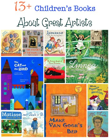 picture books about famous artists
