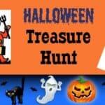 Free Printable Halloween Treasure Hunt
