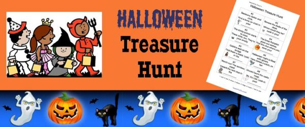 Free Printable Halloween Treasure Hunt