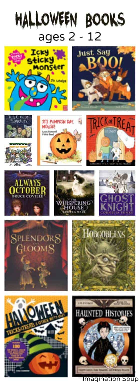 Halloween books for kids ages 2 to 12