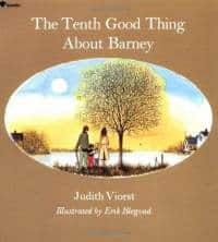 tenth good thing about barney judith viorst paperback cover art Books to Help Children Deal with Loss and Grief