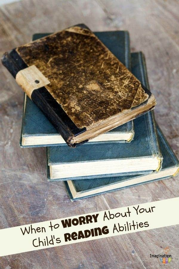 when to worry about your child's reading