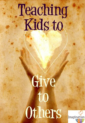 teach children to give to others