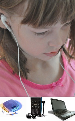 audiobooks count as reading and kids love them!
